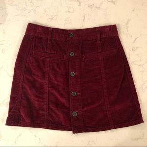 American Eagle A-Line Skirt